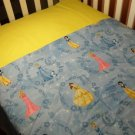 Disney Princess (Blue) Blanket and Sheet Set - Custom