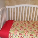 Sweet Strawberry Shorthcake Crib Bedding Set