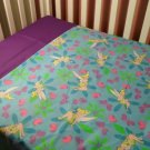 Custom Made TINKERBELL (Purple) Crib /Toddler Bed Set