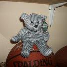"""Derek Jeter Opening Day Spring 1999 """"Salvino's Bammers"""" Bear"""