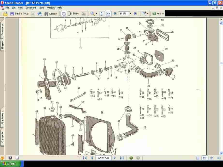 to 20 ferguson tractor wiring with Massey Ferguson Mf 65 Mf65 Tractor on Gm 1 Wire Alternator Conversion moreover Viewit likewise Ford 8n Repair Diagram besides Wiring Diagram 19 Lucas Tractor Ignition Switch besides 6 Volt Positive Ground Battery Wiring Diagrams.