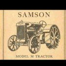 SAMSON M TRACTOR SERVICE OPERATIONS MAINTENANCE MANUAL