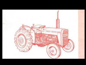 MASSEY FERGUSON MF 240 TRACTOR PARTS MANUAL & DIAGRAMs