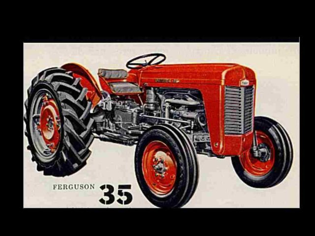 Massey Ferguson 35 Gas Tractor : Massey ferguson mf gas diesel tractor operation