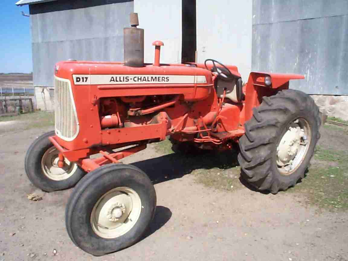 Allis Chalmers D17 Parts Diagram : Allis chalmers d tractor operations parts manual