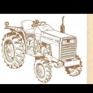 MASSEY FERGUSON MF 1035 MF1035 TRACTOR PARTS MANUAL