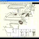 MASSEY FERGUSON MF 165 MF165 TRACTOR PARTS MANUAL