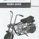 GILSON SNOWMOBILE Mini Bike & GoCart PARTS MANUAL SET