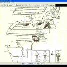MASSEY FERGUSON MF165 PARTS MANUAL -390pg Complete Part List for MF 165 tractors