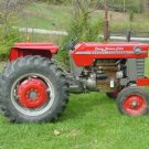 MASSEY FERGUSON MF165 OPERATIONS MAINTENANCE MANUAL for Gas or  Diesel Tractors
