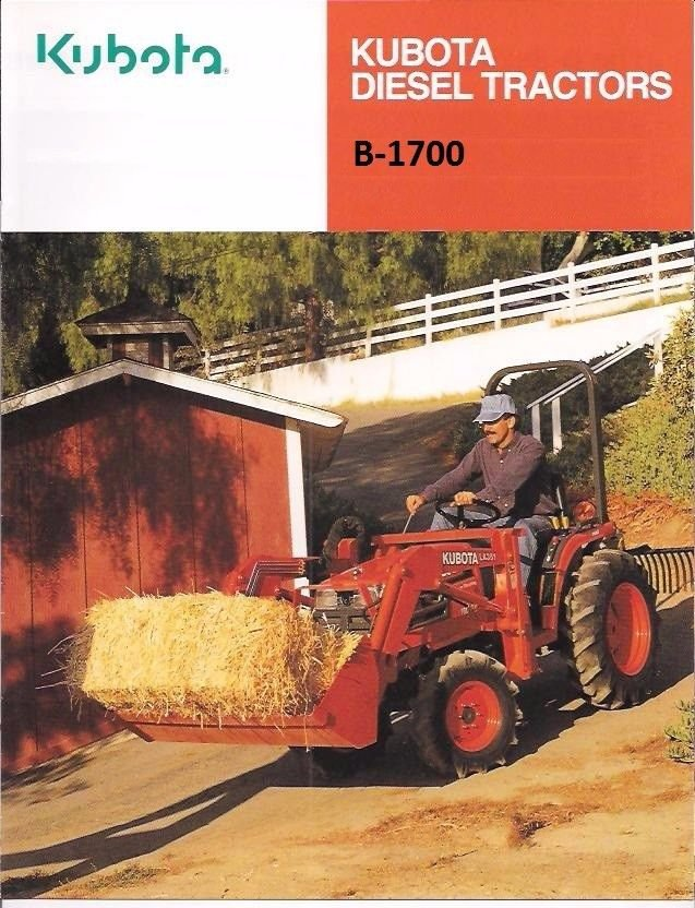 Kubota Tractor Hydraulics Troubleshooting : Kubota b tractor parts manuals pg for d e
