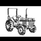 KUBOTA L2250 L2550 L2850 L3250 L-2250 MANUAL for Tractor Operations & Maintenace