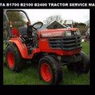 KUBOTA B1700 B2100 B2400 TRACTOR SERVICE MANUAL 460pg with RC 54 60 Mower Repair