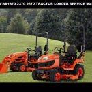 KUBOTA BX1870 BX2370 BX2670 SERVICE MANUAL 440pg w RCK 48 54 60 Mower LA Loaders