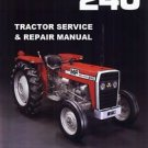 MASSEY FERGUSON MF240 WORKSHOP SERVICE MANUAL 191pg with MF 240 Tractor Repair