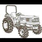KUBOTA L3010 L3410 L3710 L4310 L4610 TRACTOR MANUAL for Tractor Service & Repair
