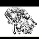 GRAY-MARINE FIREBALL V8 V-8 MARINE ENGINE MANUAL for Boat Motor Service & Repair