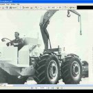 COUNTY TRACTOR FORWARD CONTROL PARTS MANUAL & ATTACHMENT GUIDE for FC Service