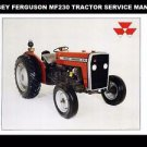 MASSEY FERGUSON MF230 WORKSHOP SERVICE MANUAL 200pg with MF 230 Tractor Repair
