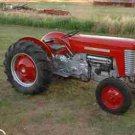 MASSEY FERGUSON MF 50 TRACTOR OPERATIONS & MAINTENANCE MANUAL  for MF50 Service