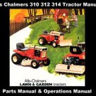ALLIS CHALMERS 300 312 314 TRACTOR MANUALs with 310-D 312-D 314-H Parts List