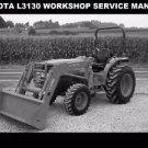 KUBOTA L3130 TRACTOR WORKSHOP MANUAL 600pg of L 3130 Service Rebuilding & Repair