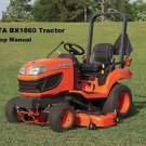 KUBOTA BX-1860 BX-2360 BX-2660 TRACTOR WORKSHOP MANUAL 390pg of Service & Repair