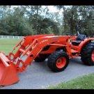 KUBOTA MX5100 & LA844 LOADER PARTS MANUALs -400pg for Tractor Service & Repair