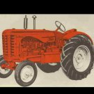 MASSEY HARRIS 744D TRACTOR PARTS MANUAL w/ Diagrams for 744 D Diesel Service