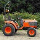 KUBOTA B2100 B 2100 B DT HSD DIAGRAM PARTS MANUALS Set 800pg for Tractor Service