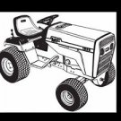 MASSEY FERGUSON MF 1855 PARTS MANUAL for MF1855 Garden Tractor Service & Repair