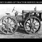 MASSEY HARRIS GP 4WD TRACTOR SERVICE MANUAL 100pg for General Purpose Repair