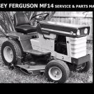 MASSEY FERGUSON MF14 WORKSHOP & PARTS MANUALs for MF 14 Tractor Service & Repair