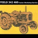 NUFFIELD 342 460 3DL 4M 4PM 4DM WORKSHOP SERVICE MANUAL 500pg for Tractor Repair