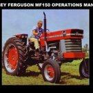 MASSEY FERGUSON MF-150 OPERATIONS MAINTENANCE MANUAL w Tractor Service & Repair