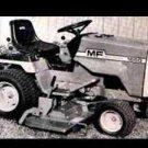 MASSEY FERGUSON MF 1450 1650 WORKSHOP MANUAL w/ MF1450 MF1650 Tractor Operations