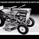 WARDS SQUIRE TRACTOR OPERATION & PARTS MANUAL with Garden Mark Service & Repair