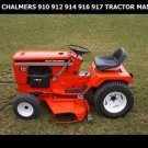 ALLIS CHALMERS 900 910 912 914 916 917 TRACTOR OPERATION MAINTENANCE MANUALs