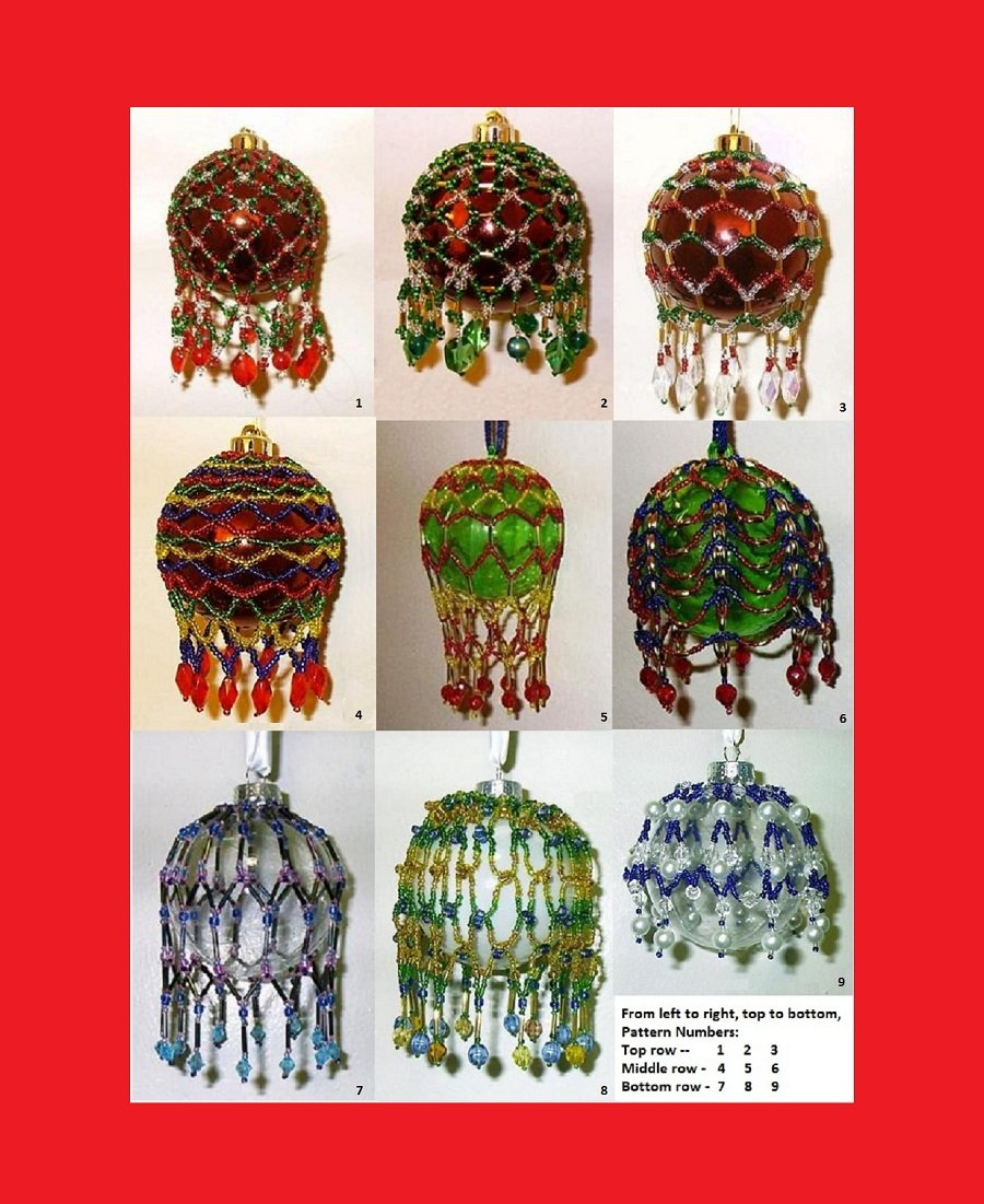 Victorian inspired beaded christmas ornament patterns pdf