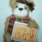 "scrapbooking tear Bear ""Let's Play"""