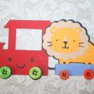 LION AND WAGON DIE CUTS