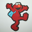 Elmo with backpack die cut