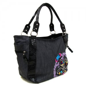 Fleur Handbag in Black