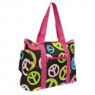 Peace Sign Tote Multi