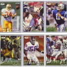 1993 Fleer Fruit of the Loom 6 Card Lot incl HOFs Thurman Thomas, Derrick Thomas & Lawrence Taylor