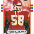 1989 Topps Traded Derrick Thomas HOF RC Rookie #90T