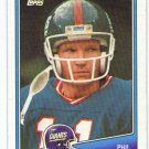 1988 Topps Phil Simms HOF? #272