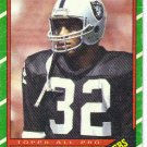 1986 Topps Marcus Allen HOF #62