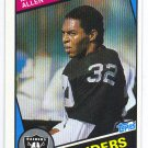1984 Topps Marcus Allen HOF 2nd Year #98
