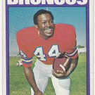 1972 Topps Floyd Little HOF #50